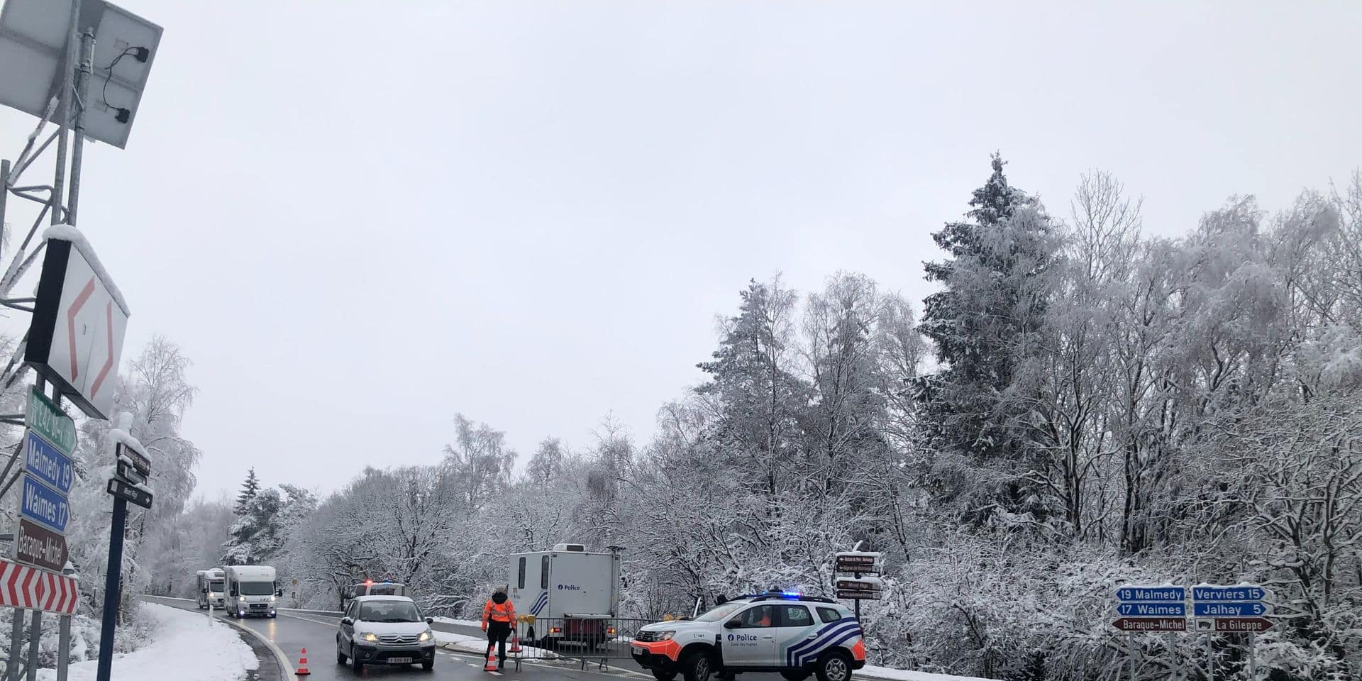 Météo: prudence sur les routes avec des routes glissantes à cause du gel