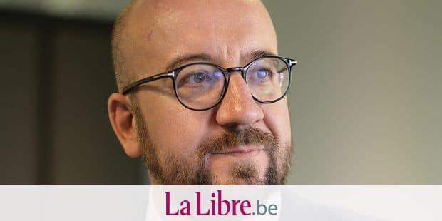 Belgian Prime Minister Charles Michel pictured during a visit of NSI plant in Awans, Friday 04 May 2018. BELGA PHOTO ERIC LALMAND
