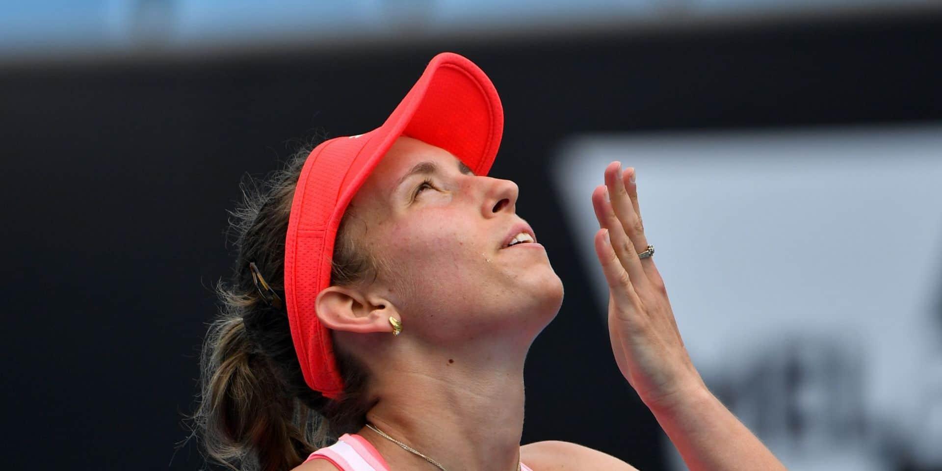 Elise Mertens se qualifie pour le 3e tour de l'Open d'Australie, Van Uytvanck éliminée, Flipkens passe en double