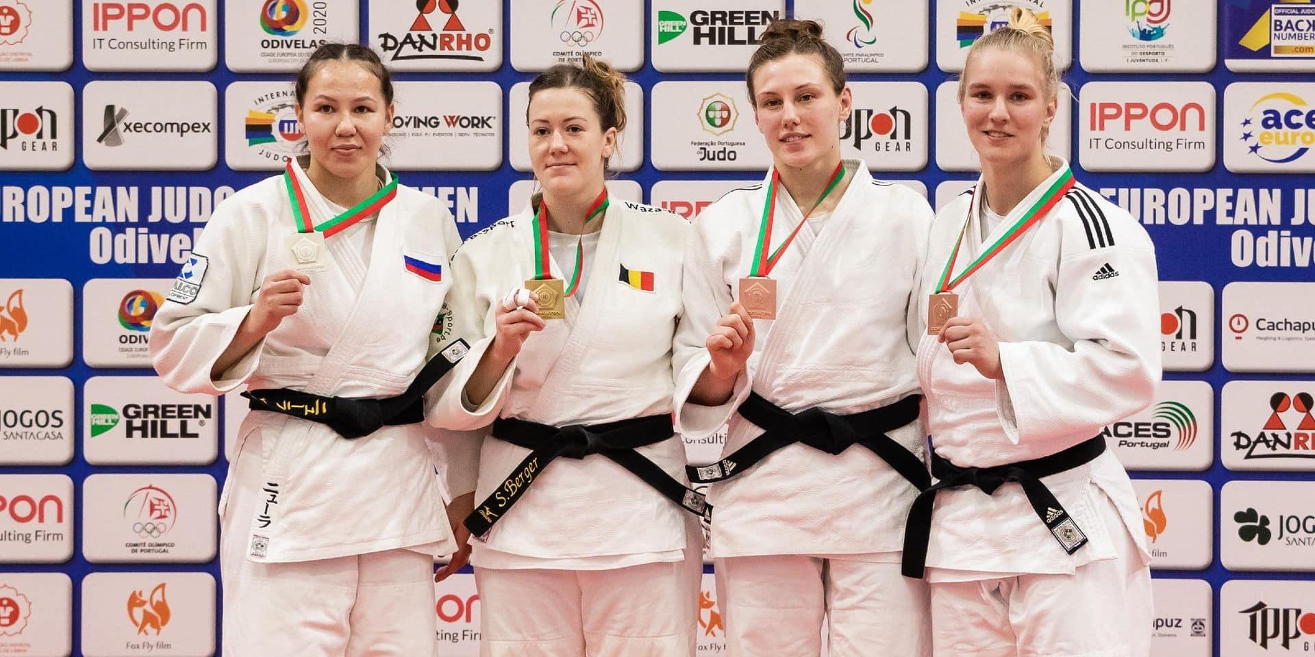 Un week-end en triple or pour le judo belge