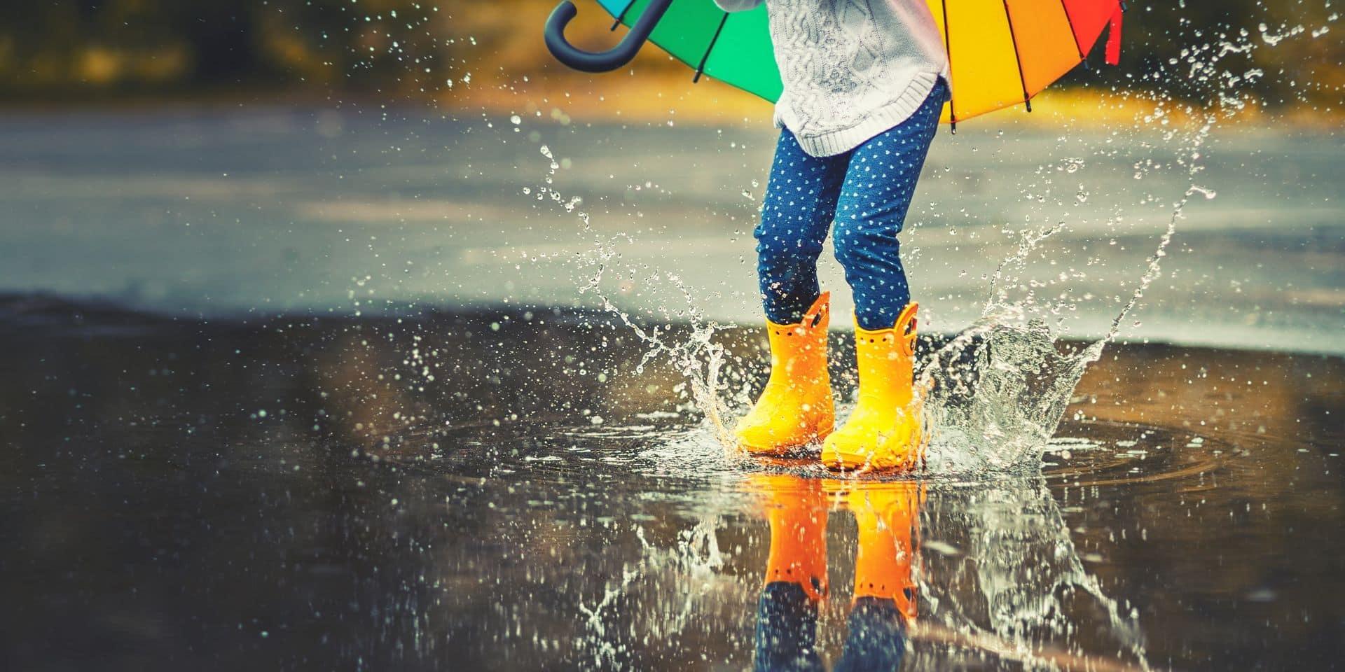 Météo: encore de la pluie ces prochains jours avant un temps plus sec