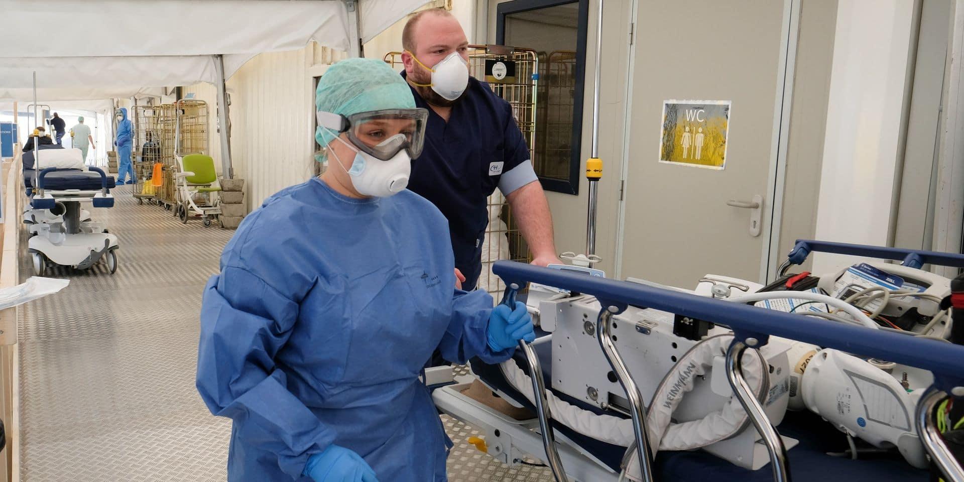 Coronavirus en Belgique: près de 70 admissions quotidiennes à l'hôpital en moyenne, les décès augmentent