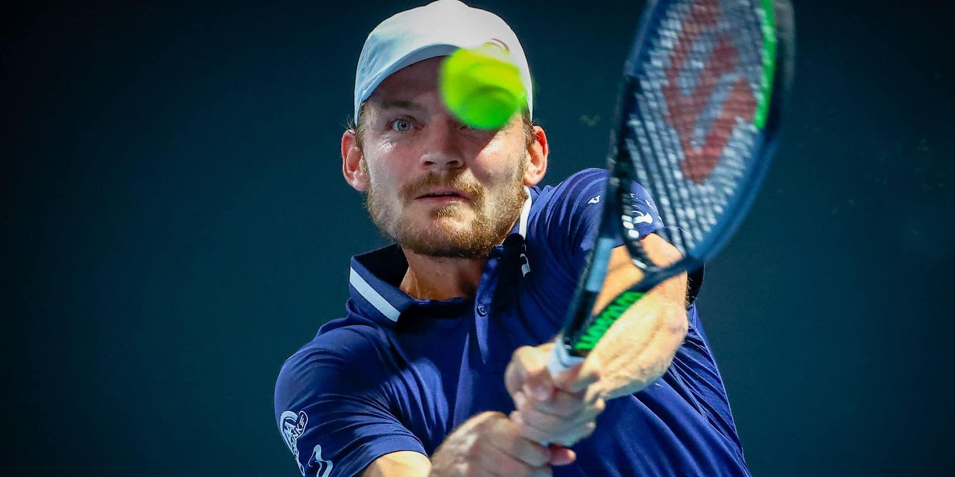 Open d'Australie: David Goffin opposé à l'Australien Popyrin au 1er tour, une Canadienne de 18 ans face à Mertens