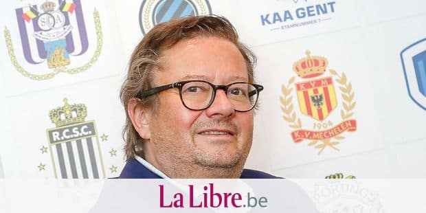 Pro League new president Marc Coucke poses after a general assembly of the Pro League at the Belgian Royal Soccer Union (KBVB - URBSFA) headquarters, in Brussels, Tuesday 05 June 2018. BELGA PHOTO VIRGINIE LEFOUR