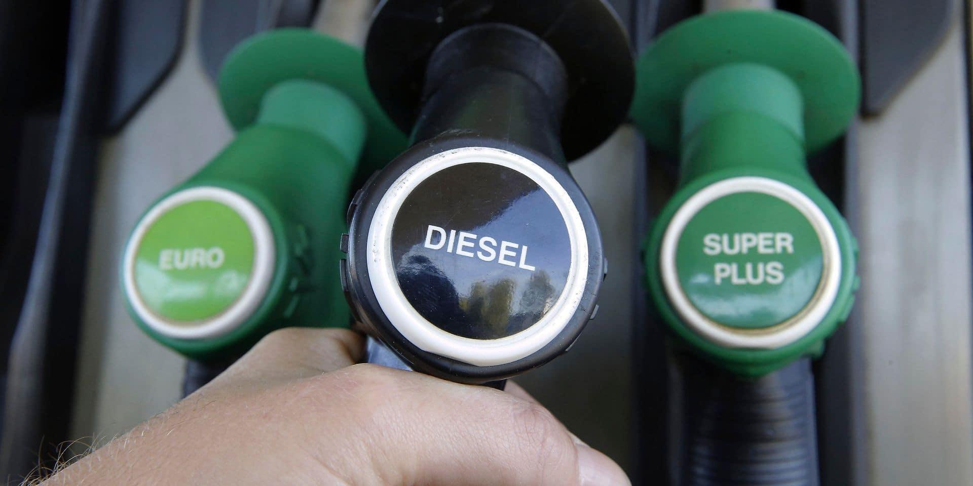 Le diesel coûtera à nouveau plus cher dès mercredi