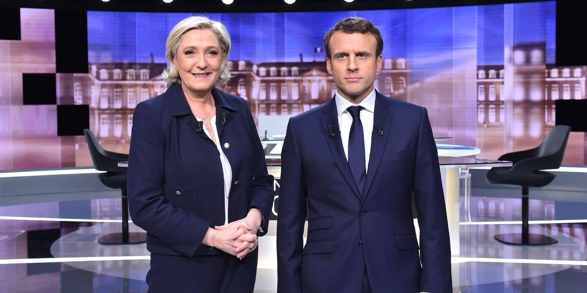 """Marine Le Pen et Emmanuel Macron seraient """"à quasi égalité"""" au second tour de la présidentielle"""