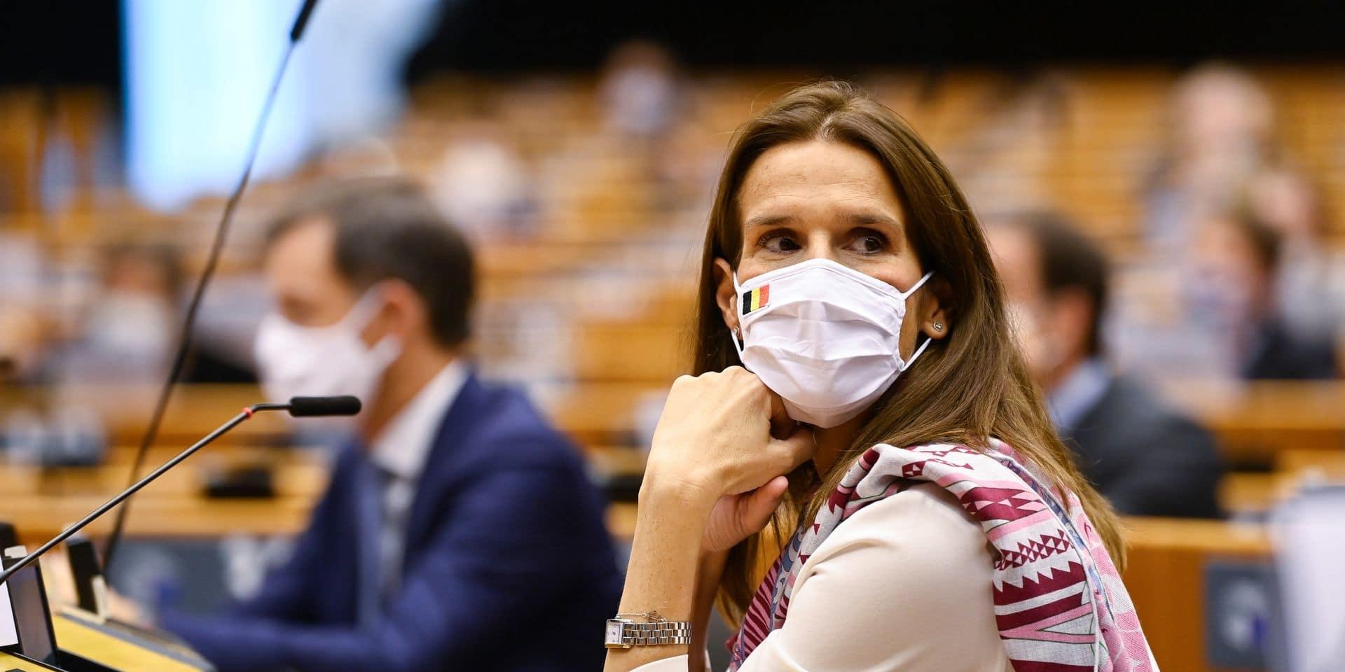 """Sophie Wilmès, guérie du coronavirus, reprend la barre du ministère des Affaires étrangères: """"Je laisse cette épreuve derrière moi """""""
