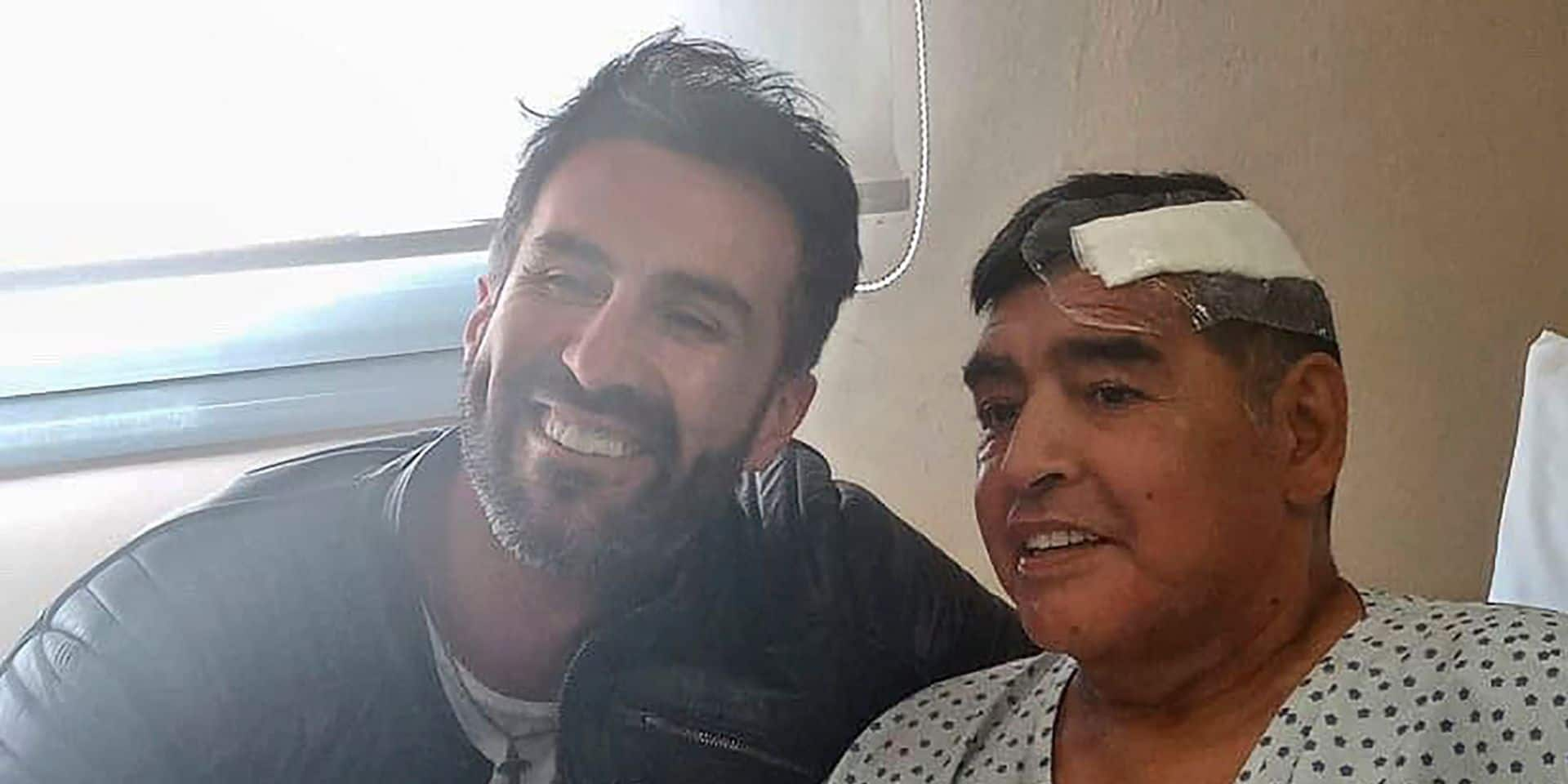 Un enregistrement téléphonique accable le médecin de Maradona