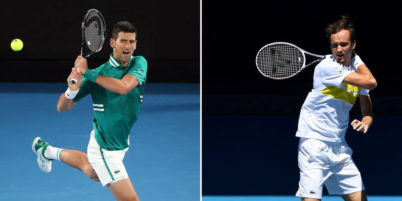 Australian Open: Djokovic déroule face à Medvedev et s'offre son neuvième succès à Melbourne ! - lalibre.be