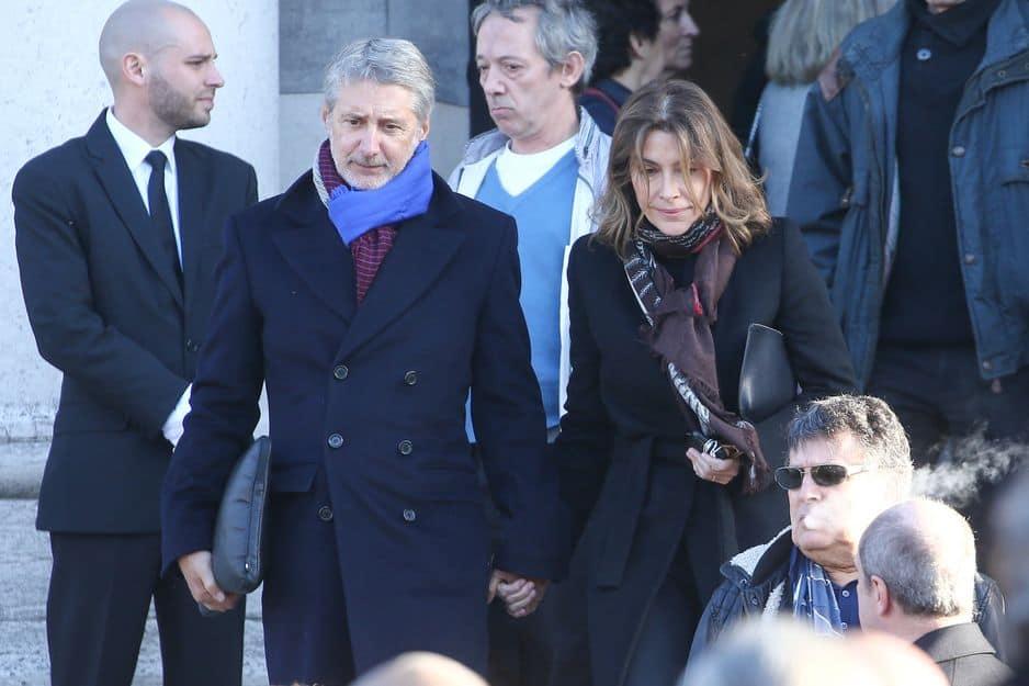 Antoine De Caunes, son alter-ego de Nulle Part Ailleurs était bien sûr là pour Philippe Gildas avec Daphné Roulier, sa compagne journaliste pour la même émission.