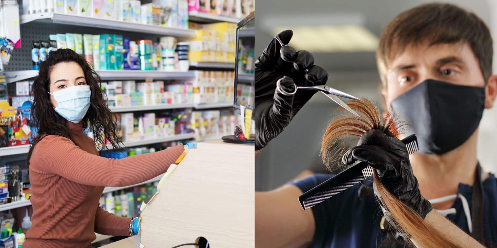 Commerces, coiffeurs, bulle sociale: voici les mesures qui entrent en vigueur ce samedi