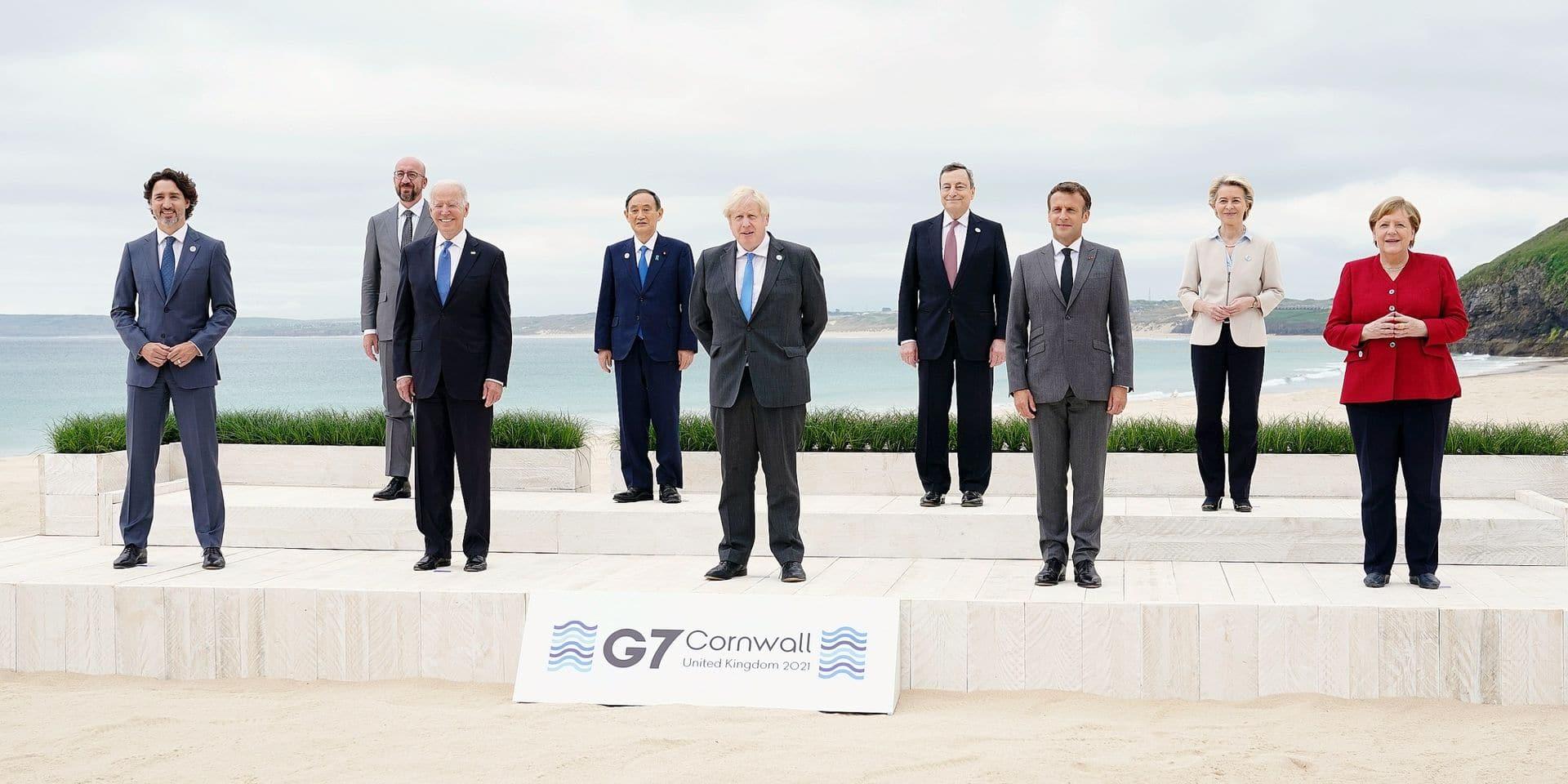 Au sommet du G7, les dirigeants des pays riches s'attellent à la reprise post-pandémie