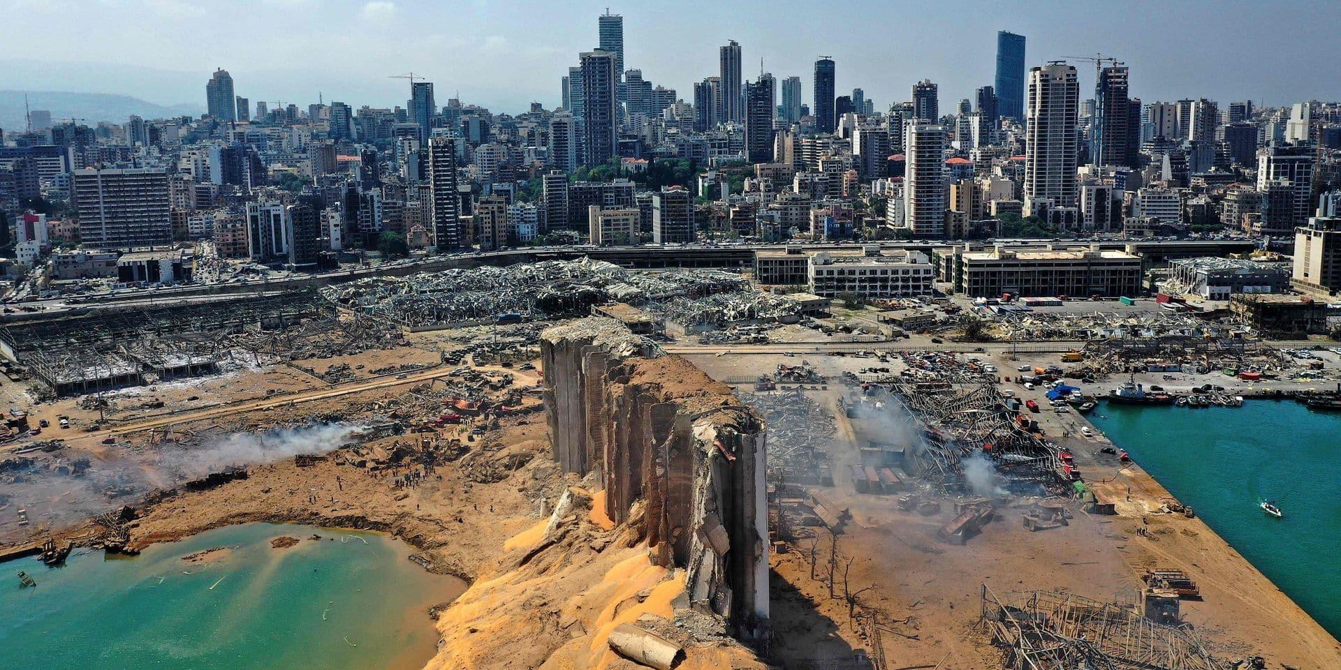 Les dommages des explosions de Beyrouth estimés à plus de trois milliards de dollars