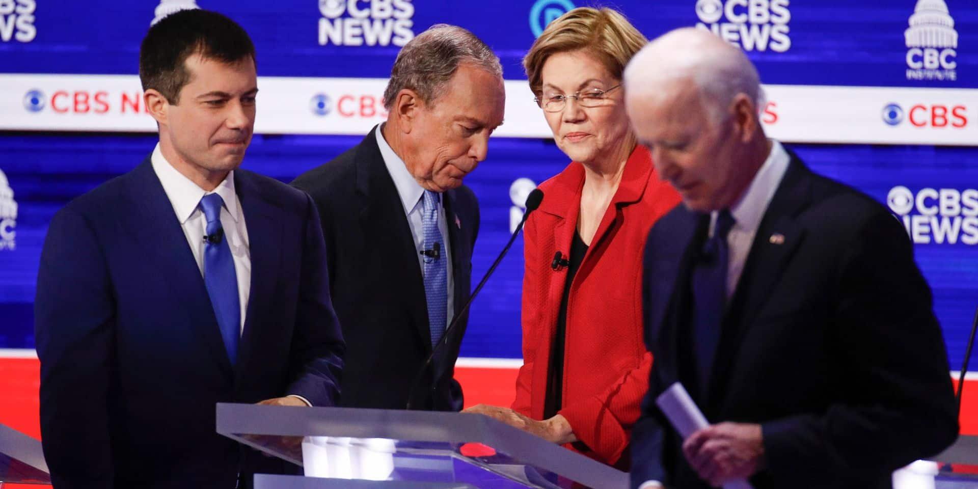 Primaires démocrates: les candidats donnent tout à la veille d'un Super-Mardi peut-être décisif