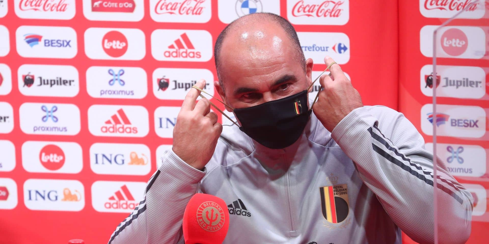 """Roberto Martinez à la veille de Belgique-Islande: """"C'est une bonne opportunité pour Michy Batshuayi"""""""