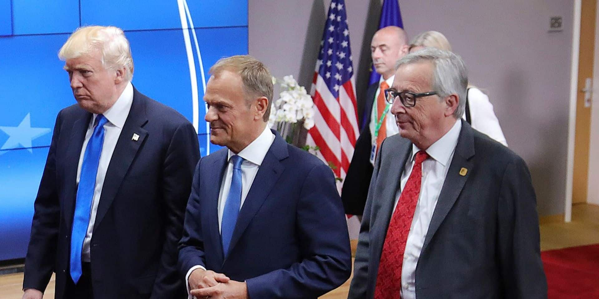 """L'UE irritée d'être considérée comme un """"ennemi"""" par Donald Trump"""