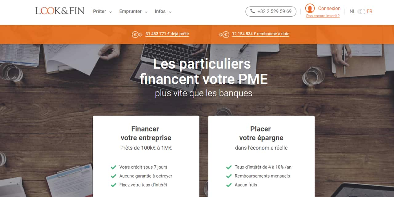 Look&Fin, cette plateforme belge qui innove dans le capital garanti