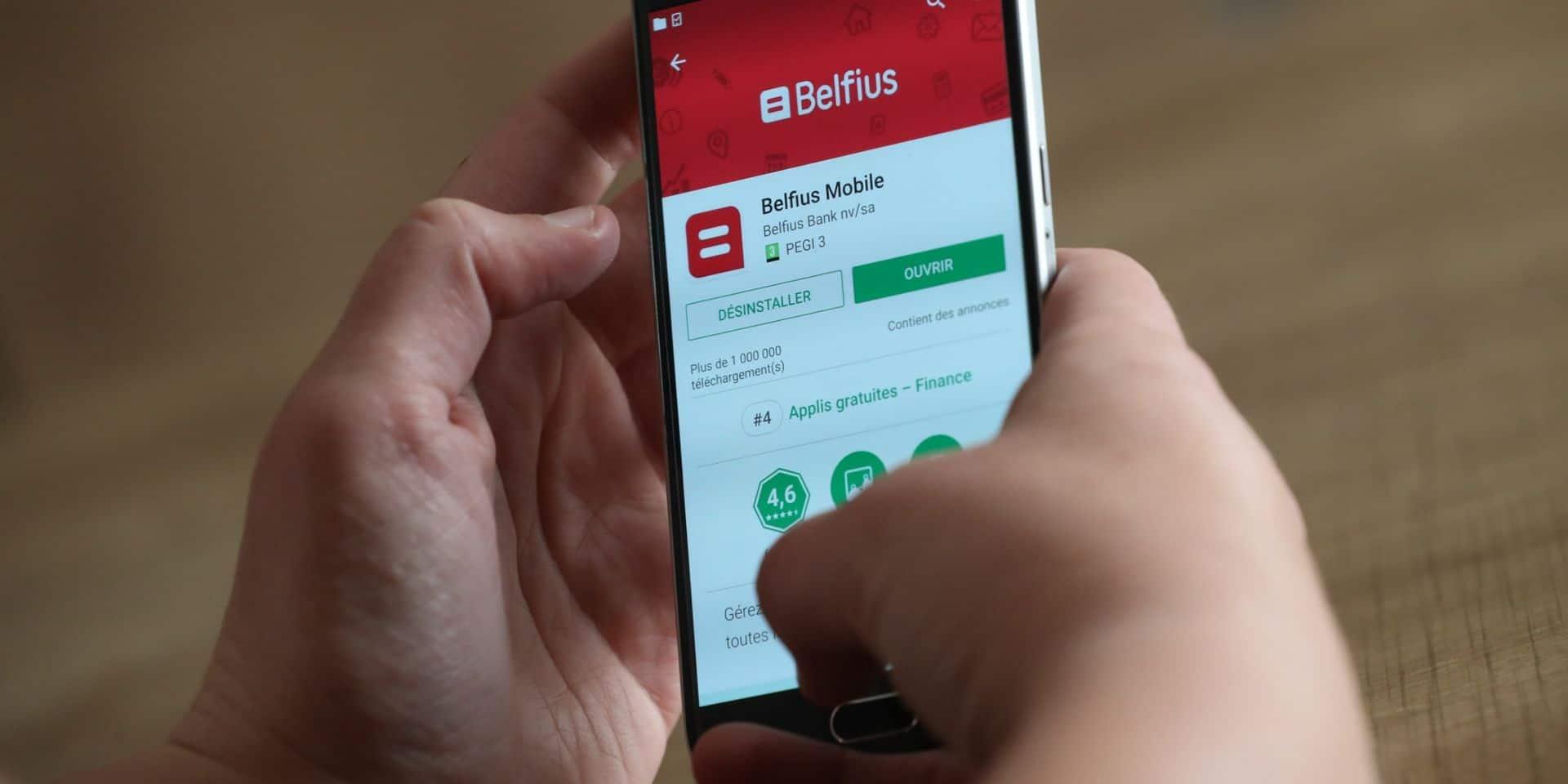 La banque Belfius va augmenter une série de ses tarifs