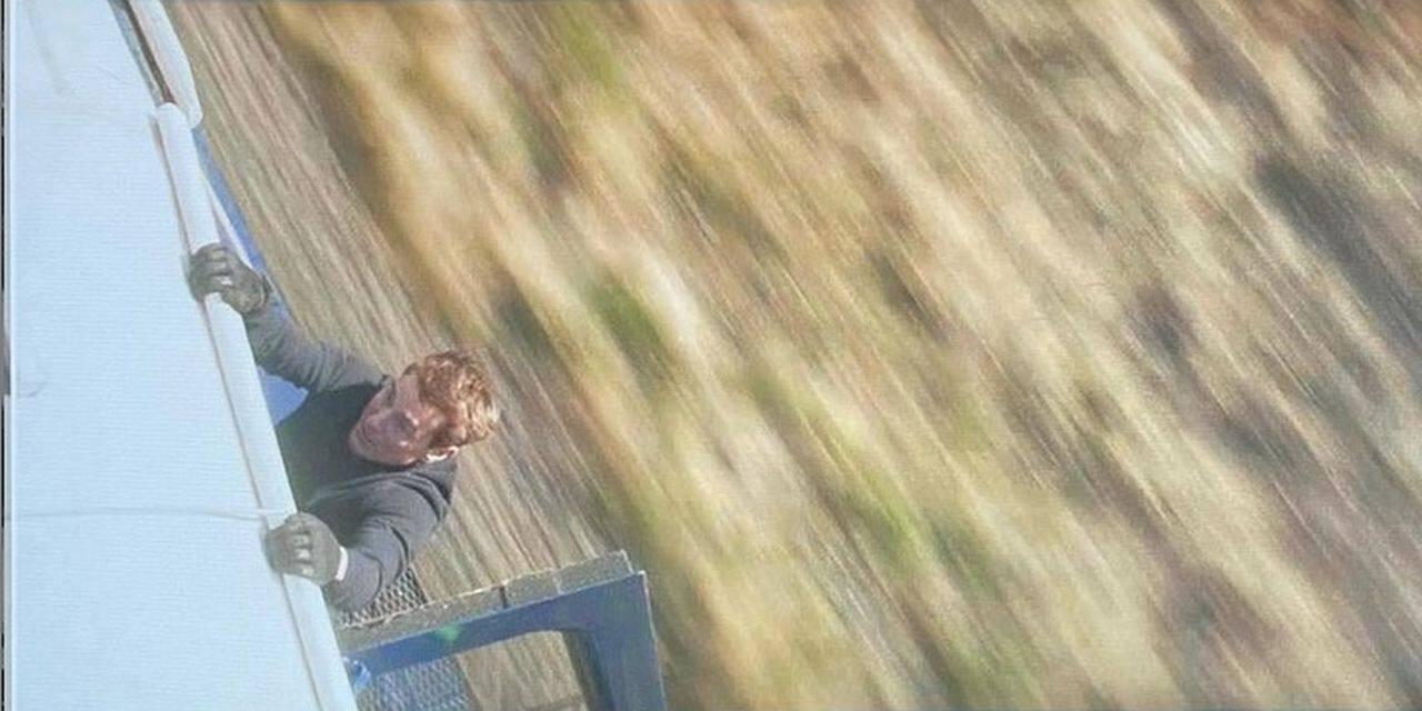 """Tom Cruise ne prend pas le train comme tout le monde: encore une cascade """"impossible"""" pour lui"""