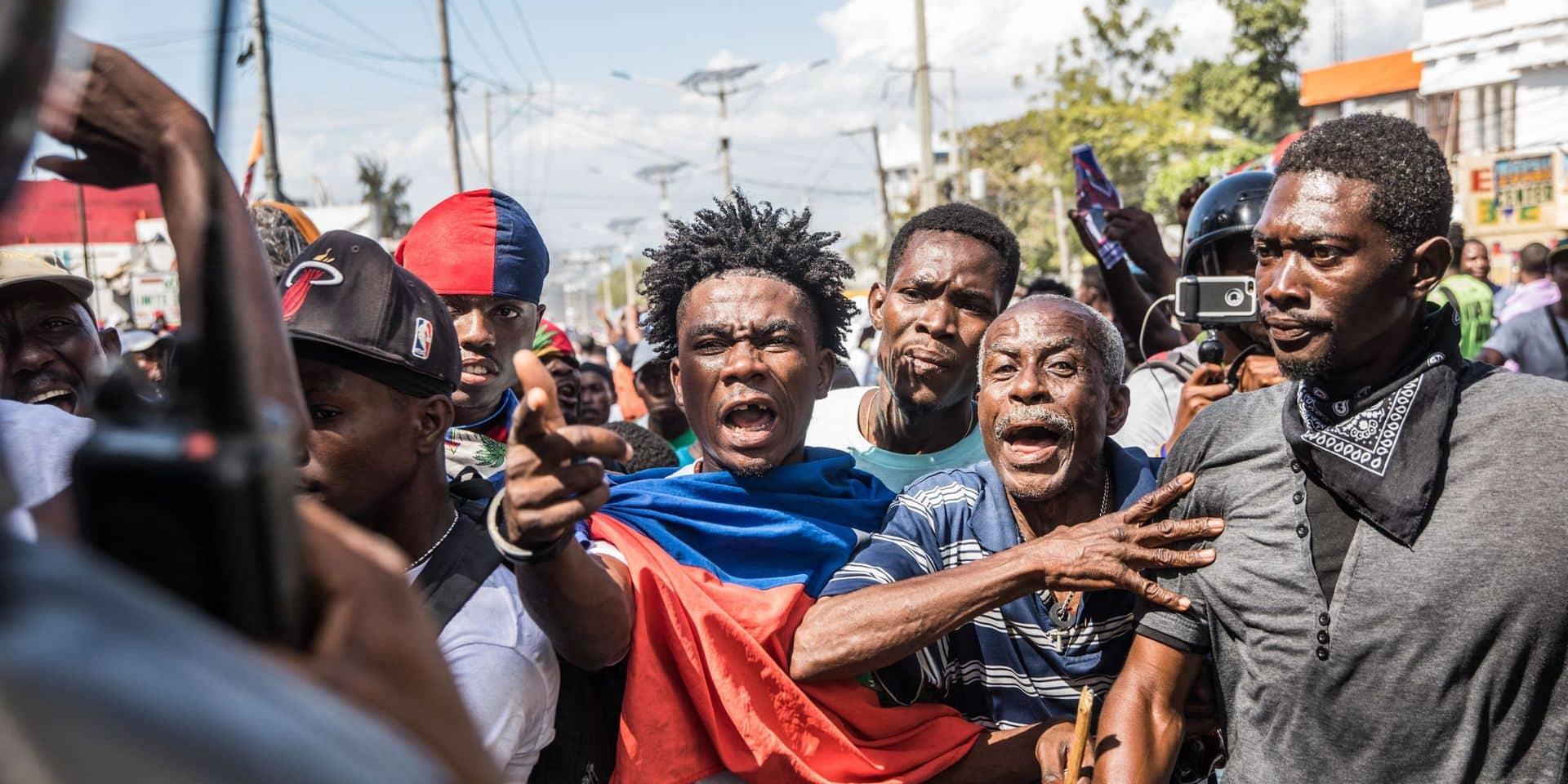 Haïti: protestations contre le projet de référendum