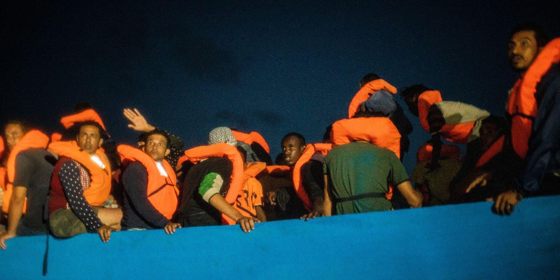 Libye: 575 migrants secourus en Méditerranée en une semaine