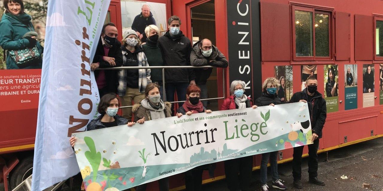 """""""Nourrir Liège"""" de retour malgré la crise sanitaire"""