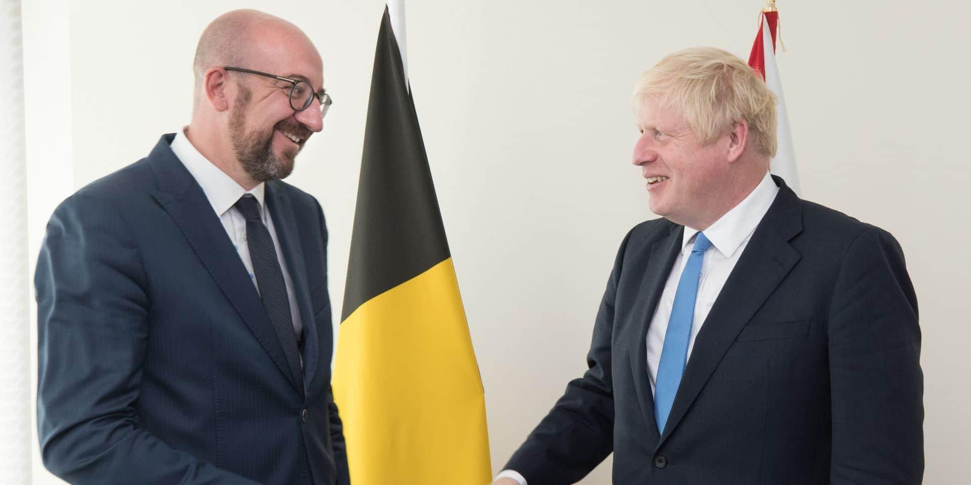 Sommet européen: Charles Michel représentera Boris Johnson au sommet européen