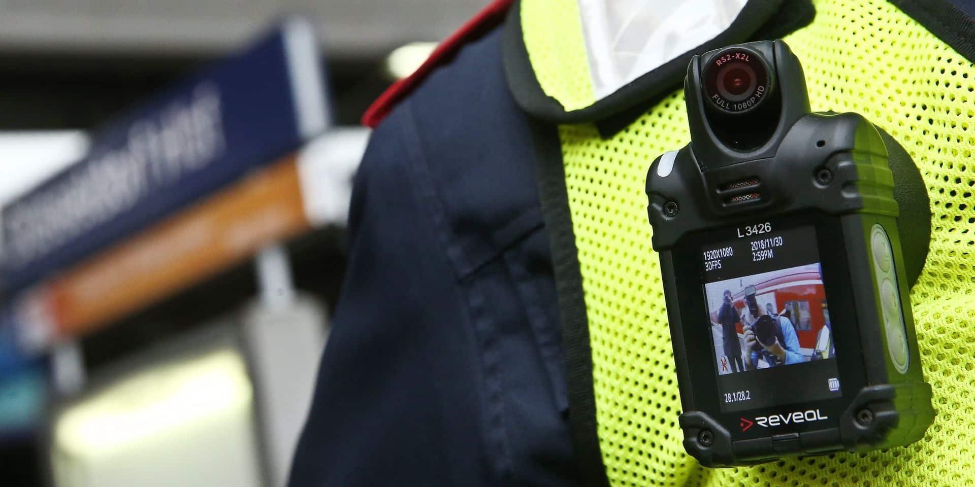 Bodycams à la Ville de Bruxelles : une trentaine de policiers équipés... pour commencer