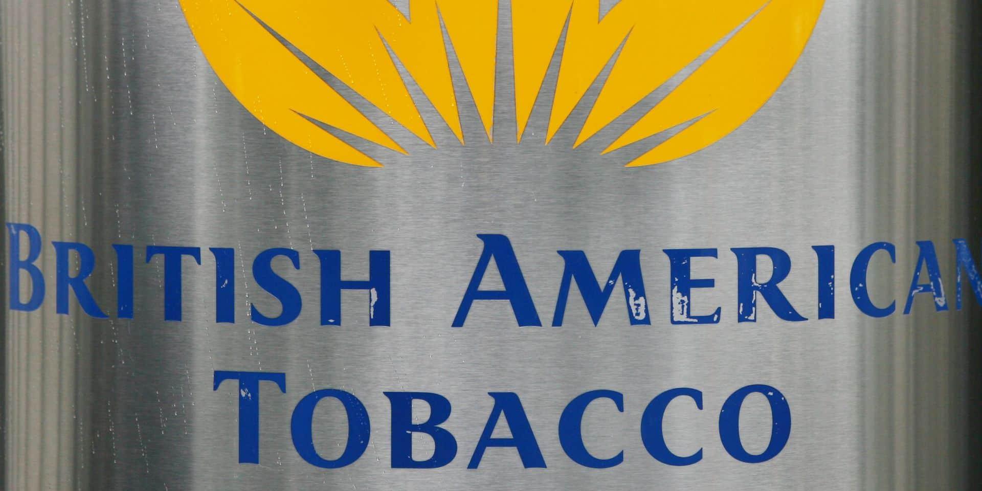 Le cigarettier British American Tobacco annonce la suppression de 2.300 emplois