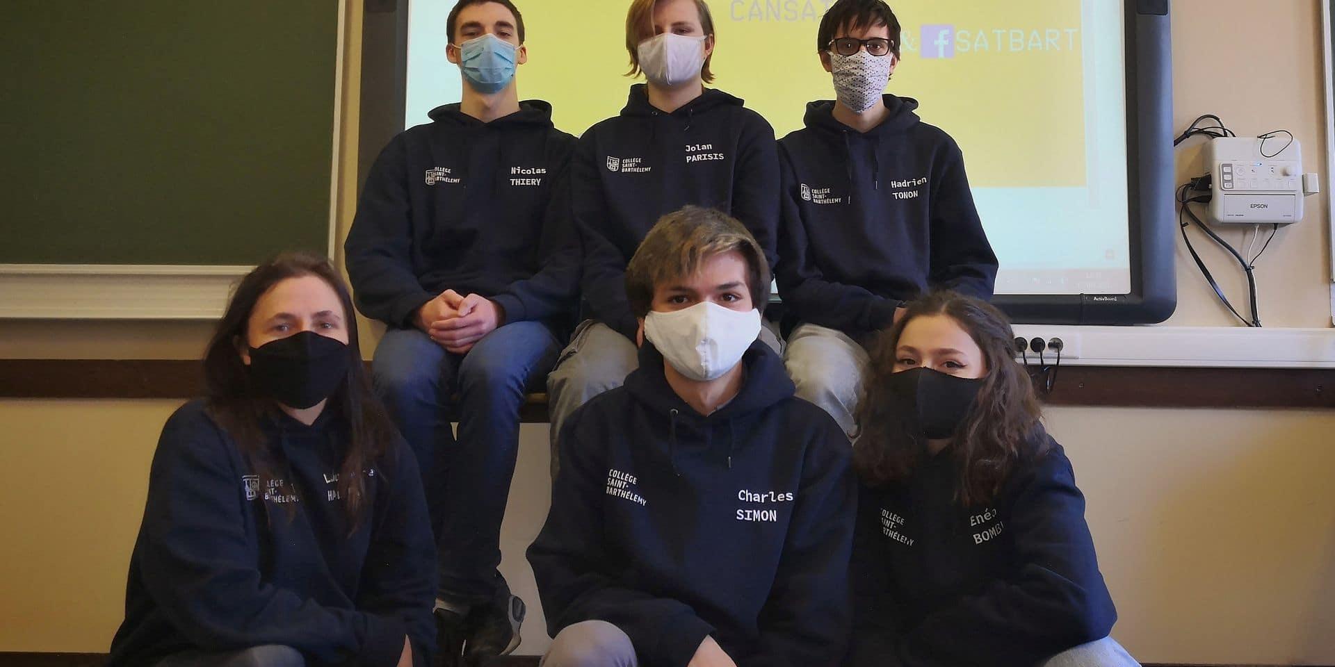 CanSat Belgium : des jeunes Liégeois s'élèvent jusqu'en finale