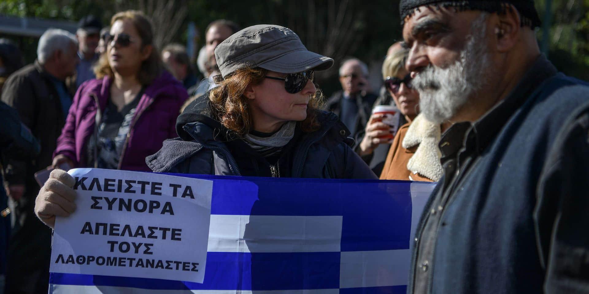Les îles grecques s'embrasent sur le dossier de la migration