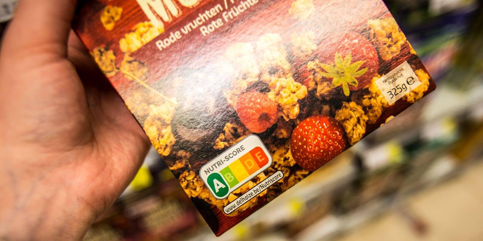 """Le Nutri-score, """"label le plus clair et le mieux adapté au consommateur"""" n'est pas bien compris"""