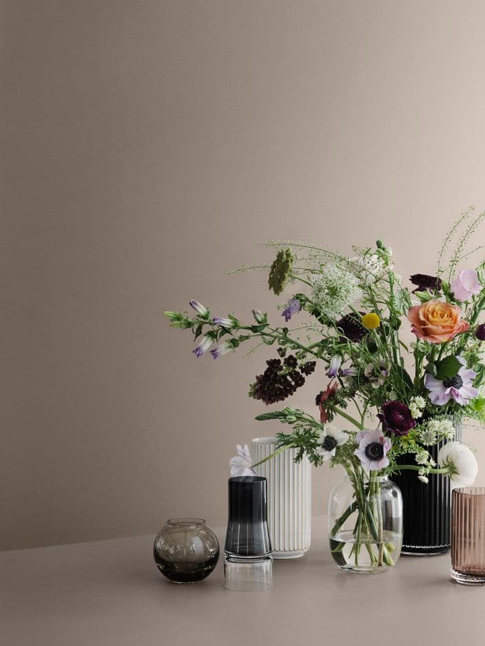 ces vases Lyngby... ou non tellement il sont beaux en tant que tels ! Dim. de 6 à 38 cm et différentes couleurs, pnc