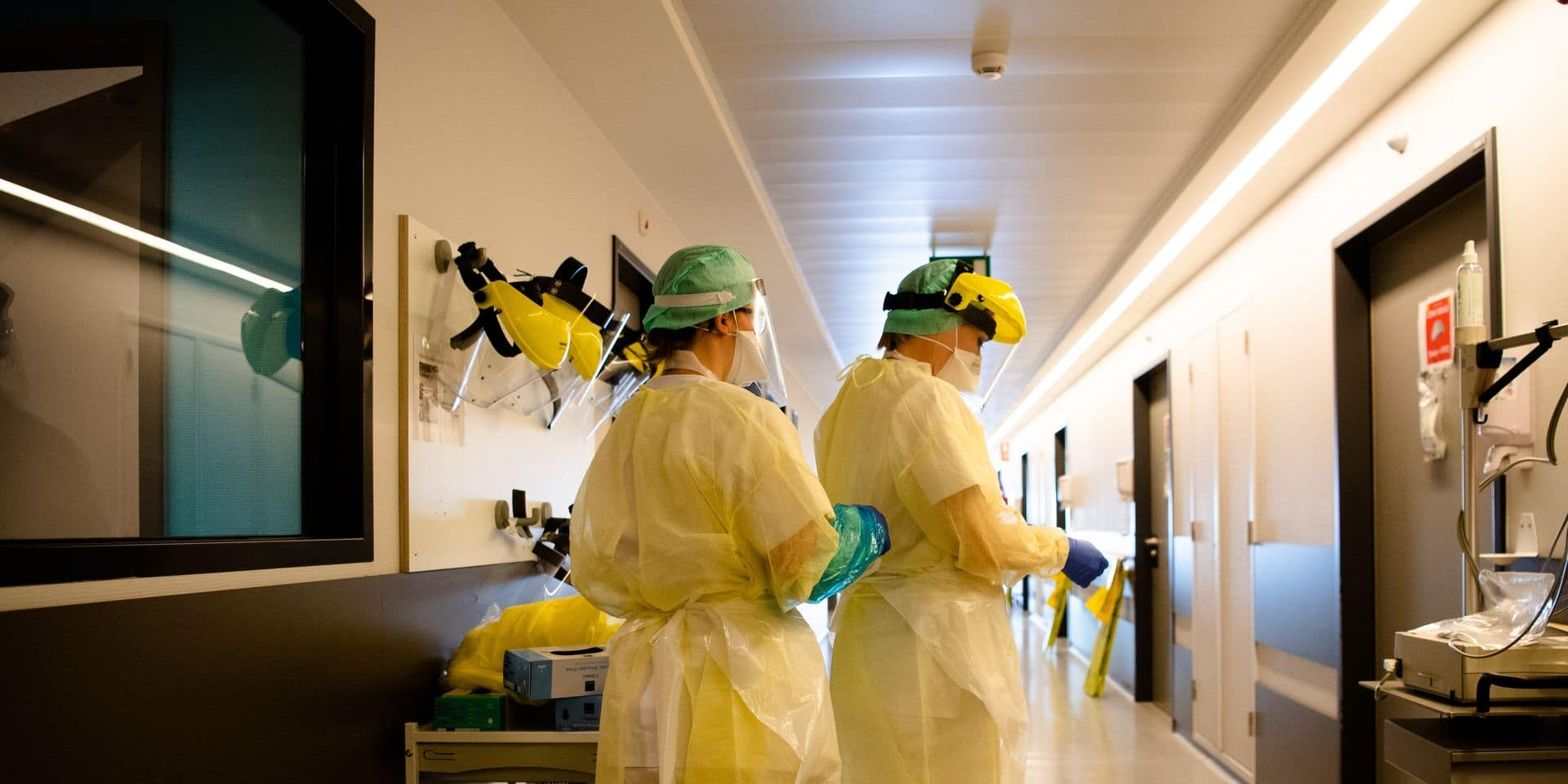 Lodelinsart - Charleroi - ISPPC - Hopital Civil Marie Curie: SARS-CoV-2 - Coronavirus - COVID-19