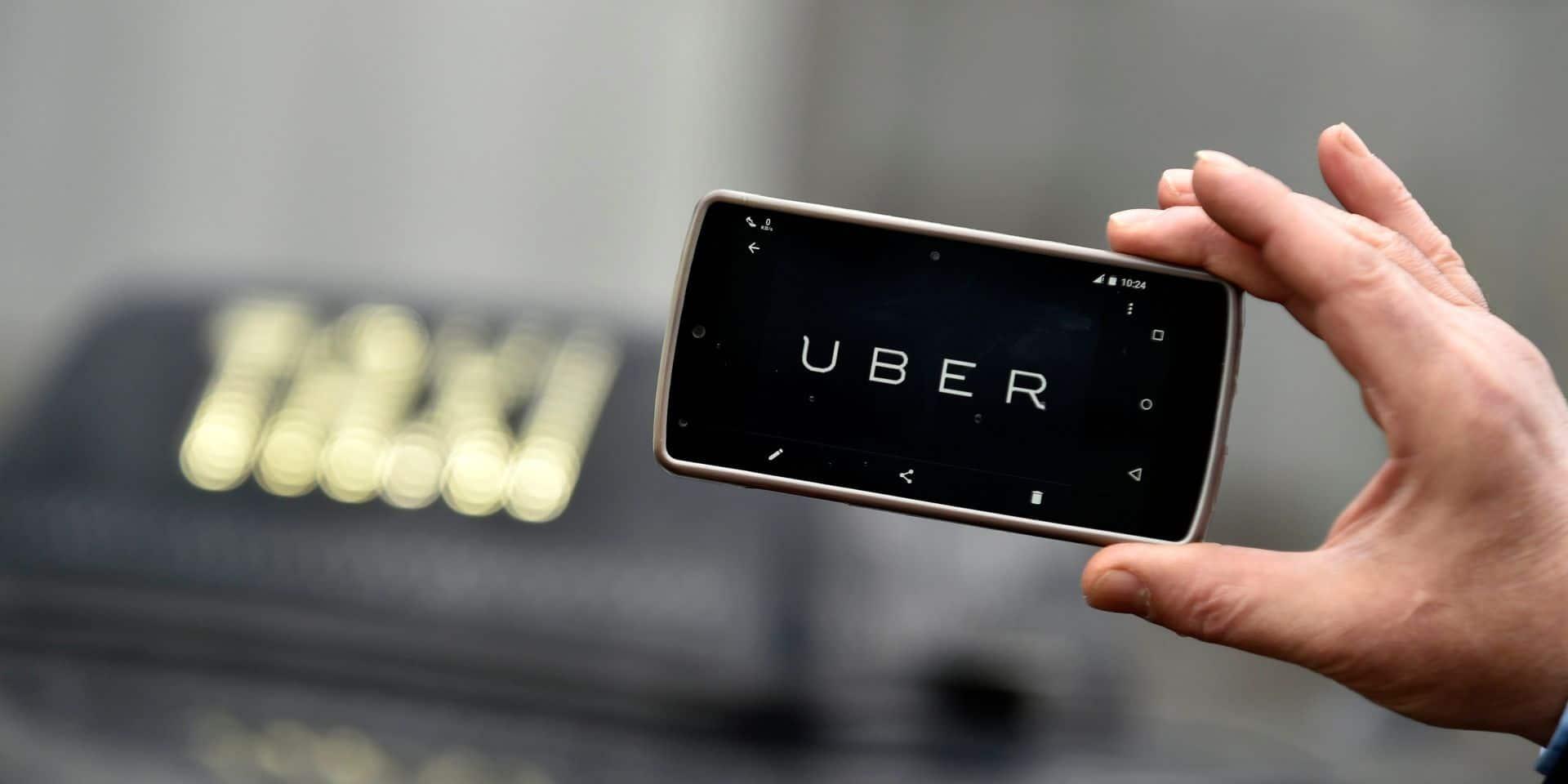 Demonstration taximen vs Uber