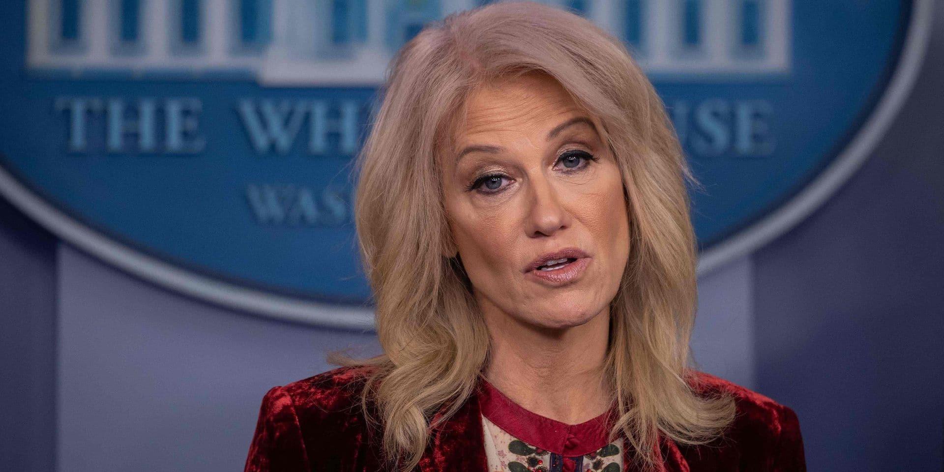 La proche conseillère de Trump, Kellyanne Conway, démissionne
