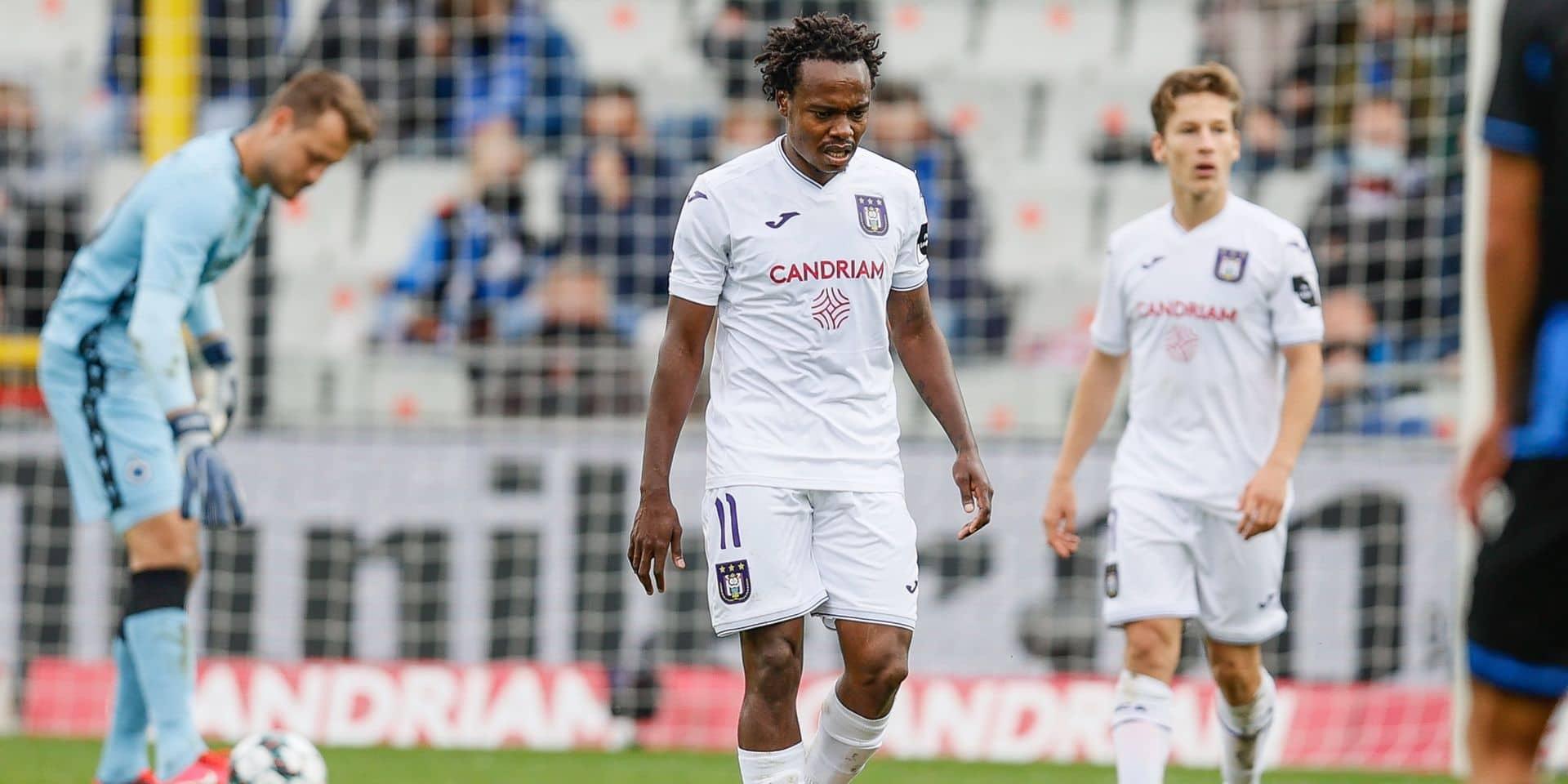 """Kompany tente d'expliquer la défaite d'Anderlecht à Bruges: """"L'expérience nous a coûté cher par moments"""""""