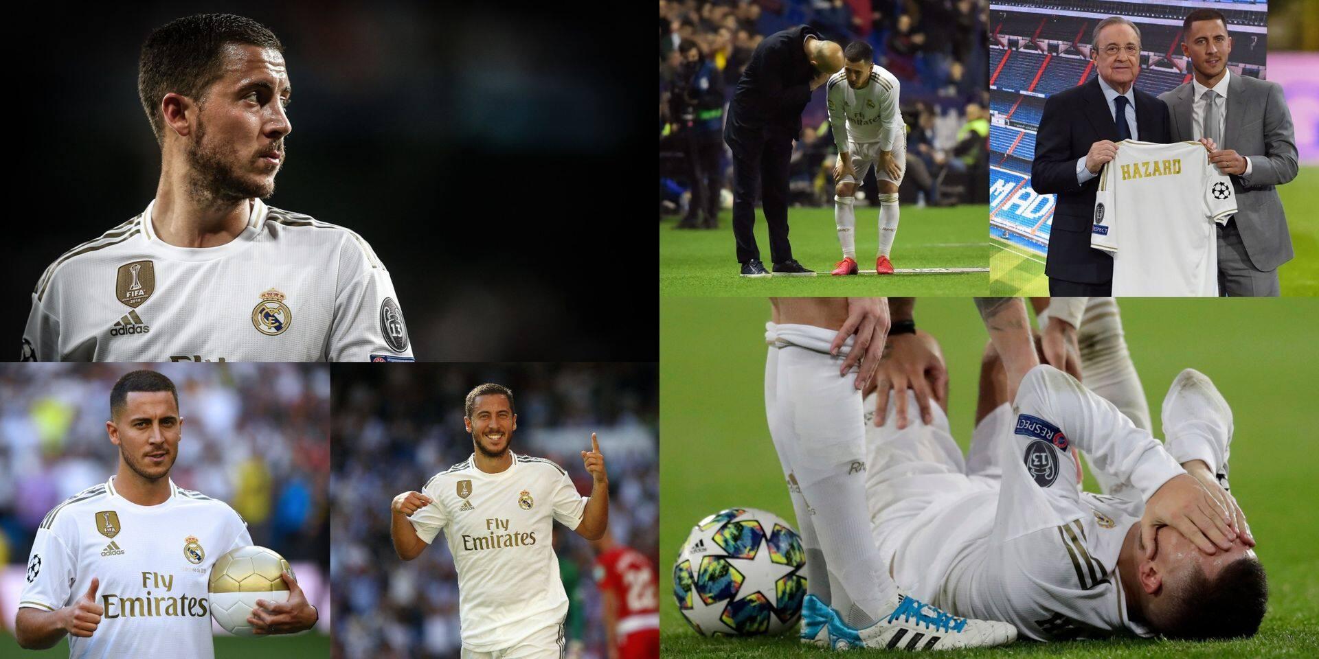 Les 500 premiers jours d'Eden Hazard au Real, entre belles promesses, vives critiques et blessures à répétition