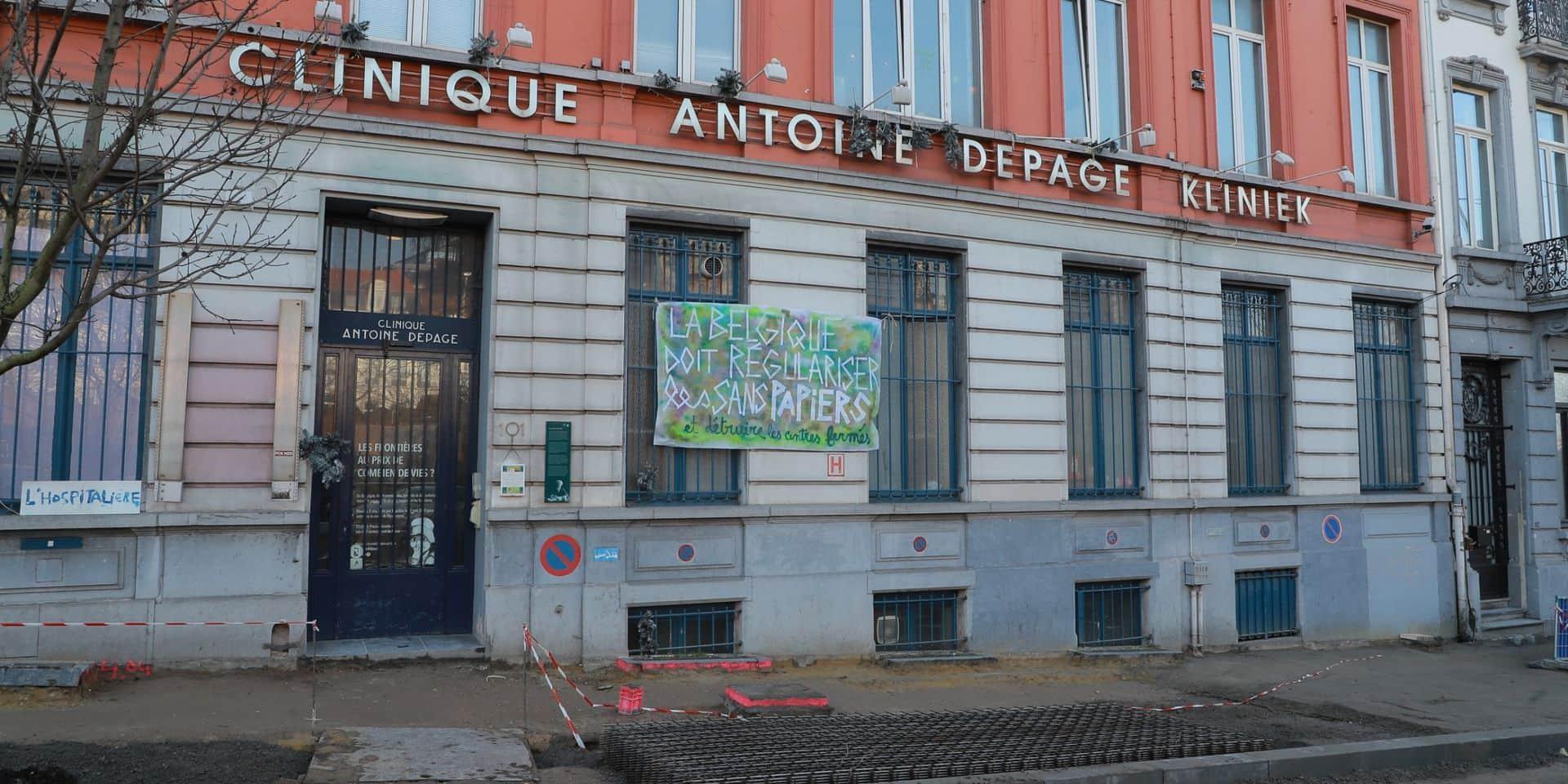En sept mois, le prix de vente de l'ancienne clinique Depage (à St-Gilles) est passé de 3,5 à... 4,6 millions d'euros