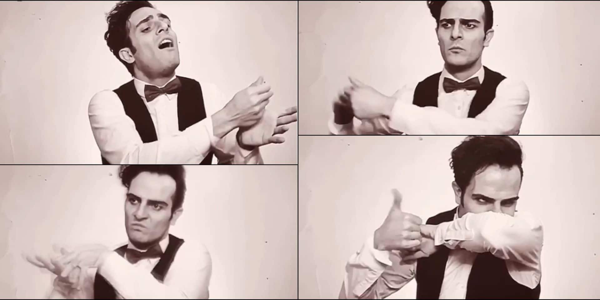 La vidéo très drôle d'un artiste iranien qui montre comment se laver les mains... à la manière d'un chef d'orchestre !