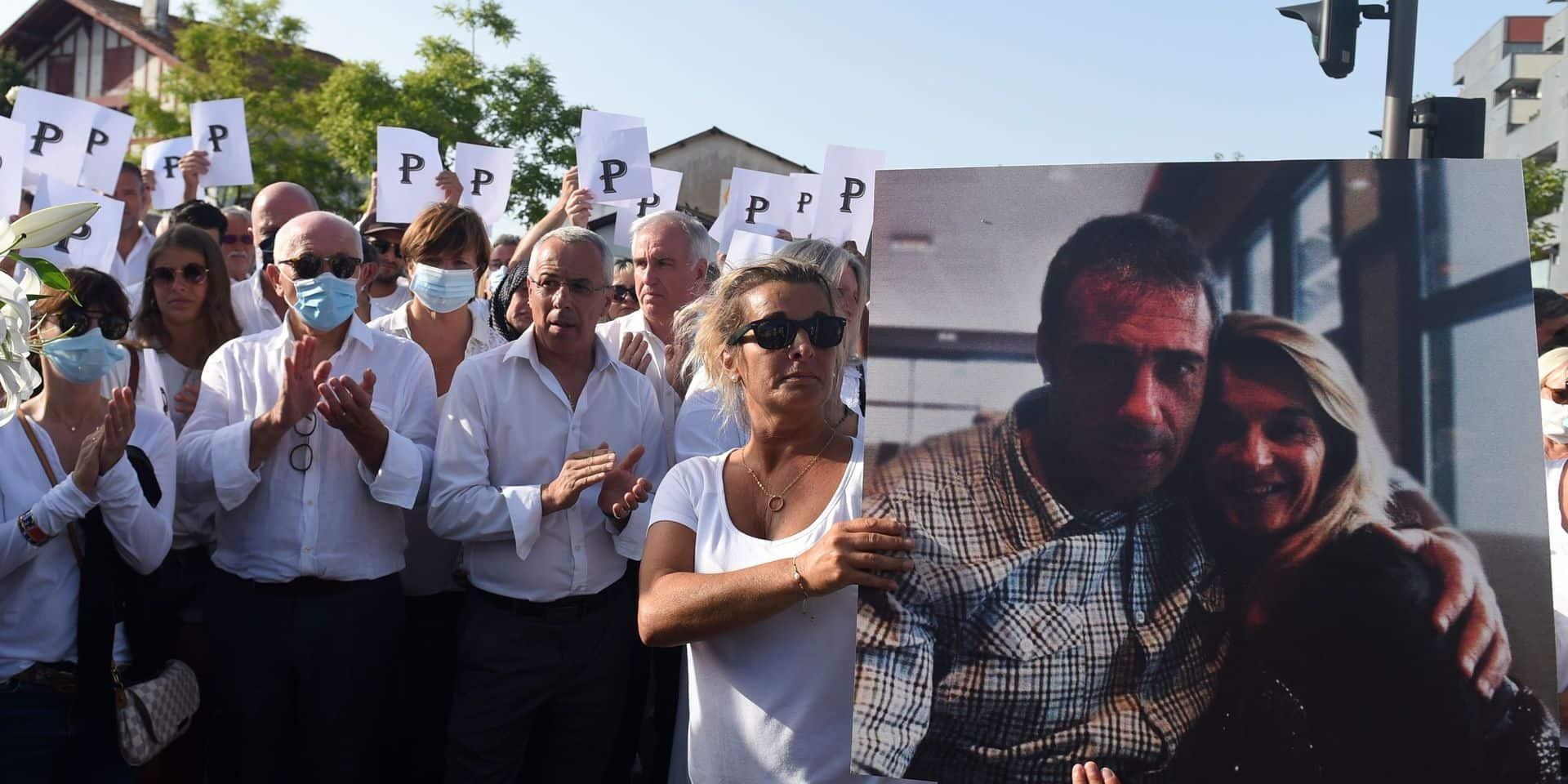 Plusieurs centaines de personnes aux obsèques du chauffeur de bus battu à mort à Bayonne