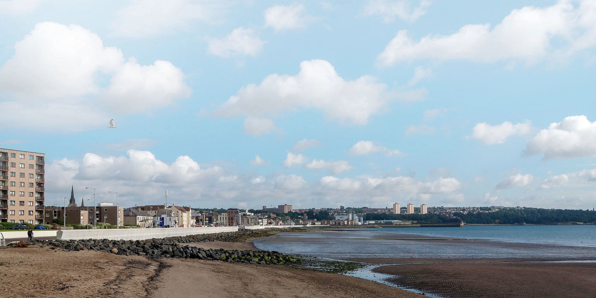 The,Beach,In,Kirkcaldy,On,The,Route,Of,The,Fife