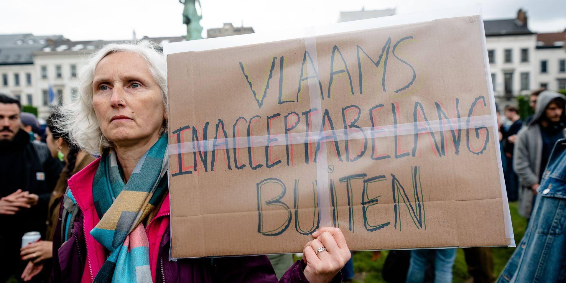 """On a dit """"non"""" aussi au Vlaams Belang à Liège"""