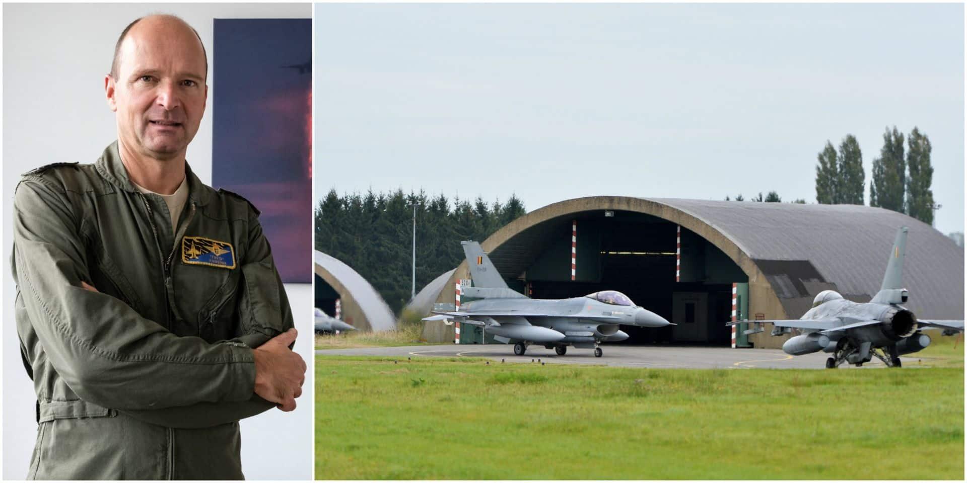 """""""Florennes reste une de nos bases phares, si pas la base phare"""", selon le chef de la Force aérienne"""