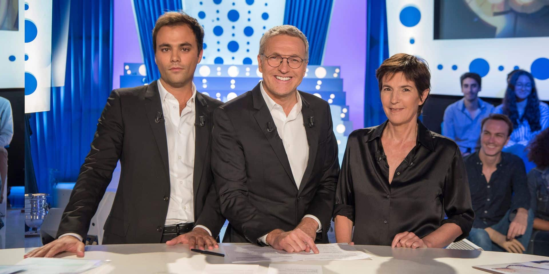 Laurent Ruquier a fait ses adieux à Christine Angot et Charles Consigny de façon (très) brève