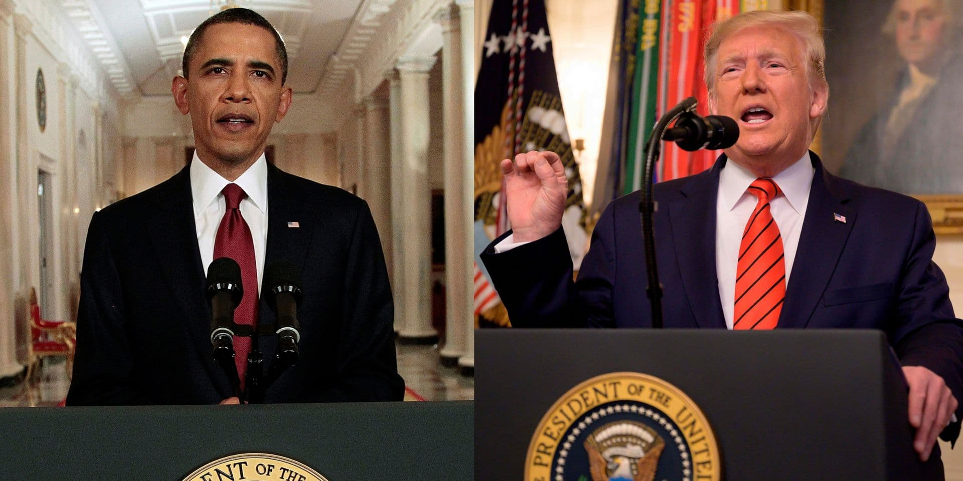 La comparaison entre le discours d'Obama sur la mort de Ben Laden et de Trump sur celle de Baghdadi est saisissante (VIDÉO)