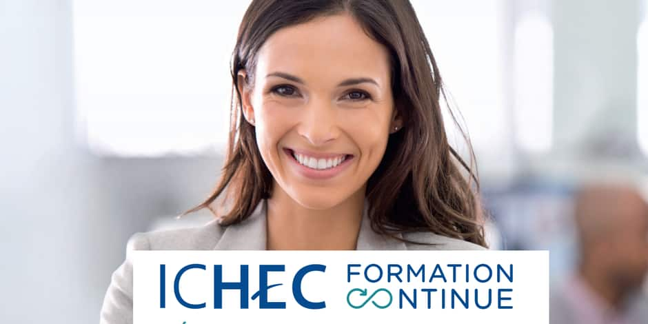 Ichec Formation continue vous offre vos formations !