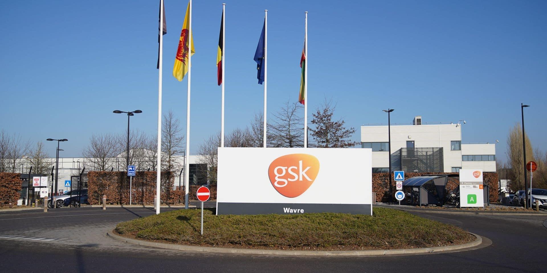 Les actions de protestation des ouvriers se poursuivent chez GSK à Wavre