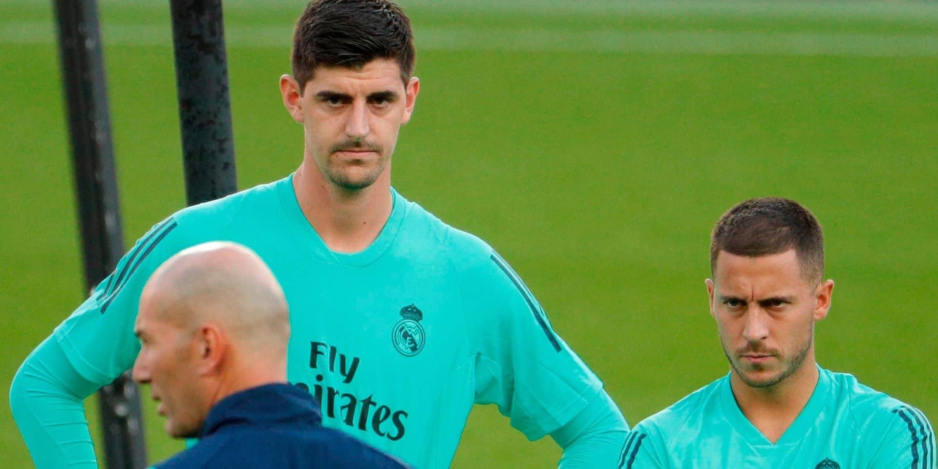 Courtois et Hazard taclés par la presse espagnole: Martinez vient à leur rescousse