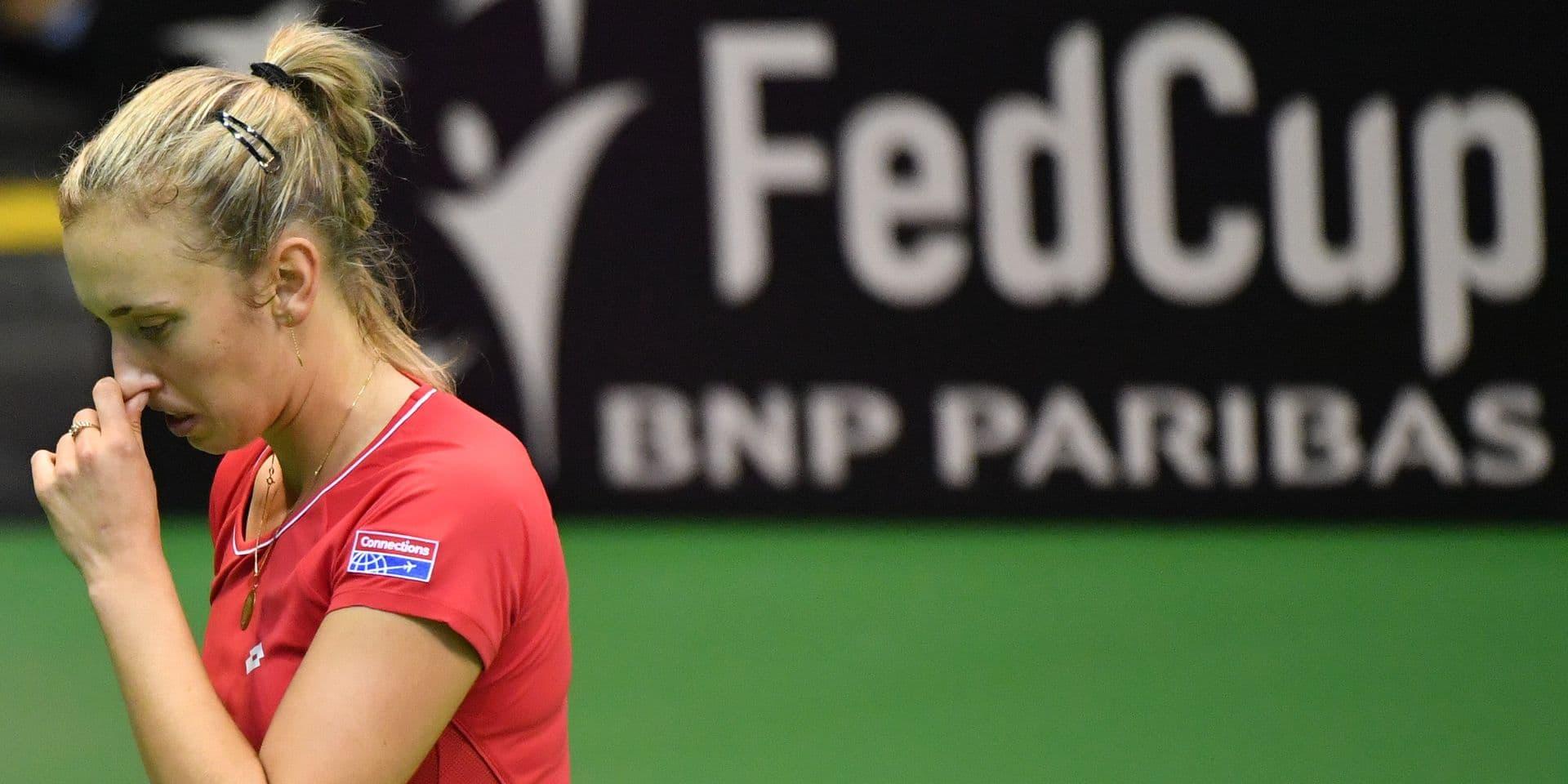 Fed Cup: Mertens s'incline contre Garcia, la France élimine la Belgique (0-3)
